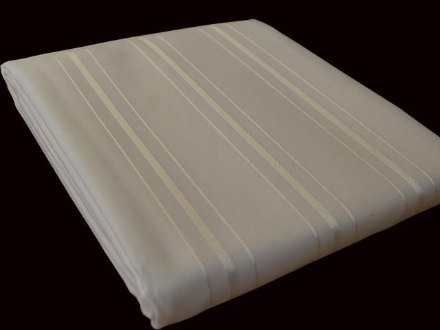 anti bakteriell schimmel textil duschvorhang 120 x 200 creme beige gestreift ebay. Black Bedroom Furniture Sets. Home Design Ideas