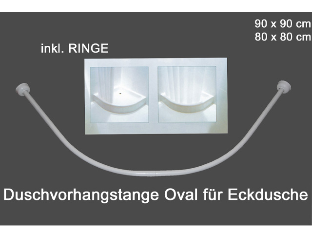duschvorhangstange teleskopstange winkelstange klemmstange f r duschvorhang ebay. Black Bedroom Furniture Sets. Home Design Ideas