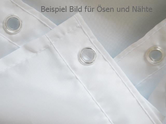 TEXTIL Duschvorhang 120 / 180 / 240 X 200 Cm Weiss,Blau