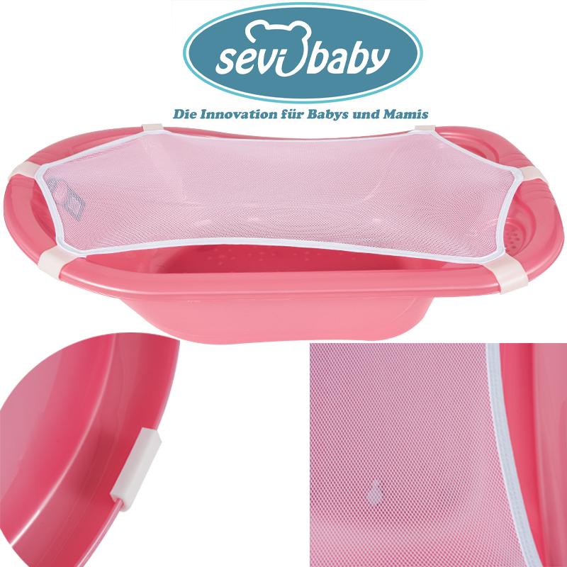 Baby Badewannennetz Eco Bad-Netz Sevibaby Badewannensitz Baby Liege Badesitz Bad