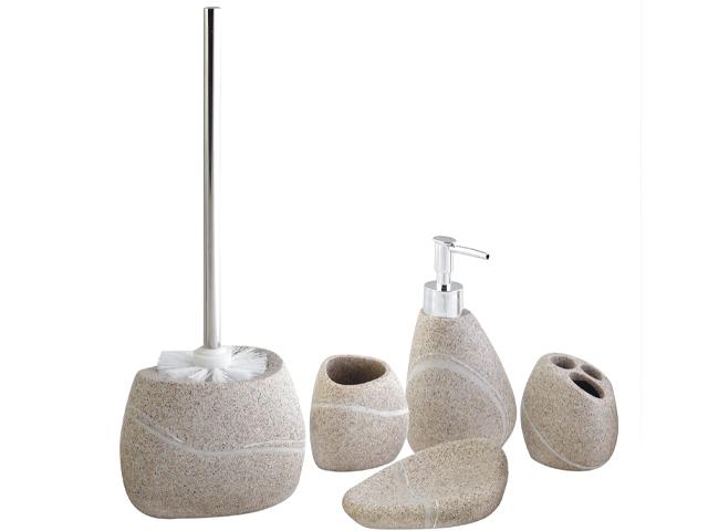 Details zu Wc Garnitur badezimmer set Badset Bürstengarnitur Seifenspender  Toilettenbürste